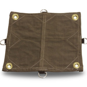 Canvas Tarp with d-rings