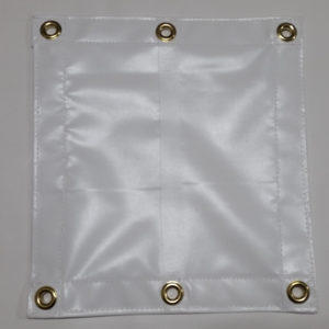 UV resistant white vinyl tarp