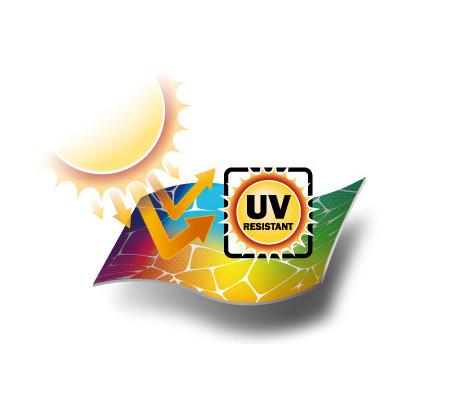 UV resistant and sun blocking