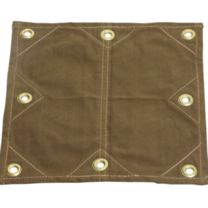 Heavy-Duty Canvas with reinforced grommets